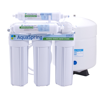 Система обратного осмоса AquaSpring AS-600 LUX