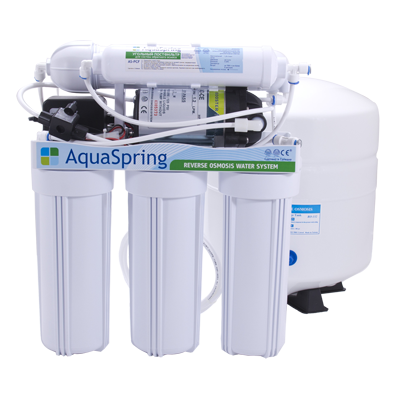 Система обратного осмоса Aquaspring AS-500p с насосом